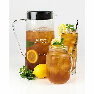 Nostalgia CI3BK Café 3-Quart Iced Tea Brewing