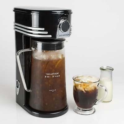 Nostalgia Café Ice 3-Quart Coffee & Tea Brewing