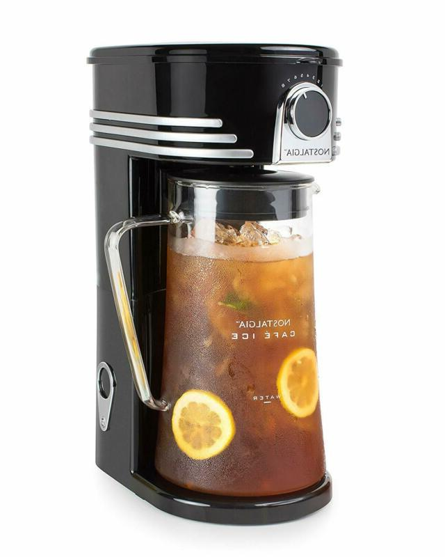 ci3bk iced coffee maker and tea brewing
