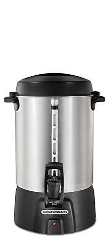 Proctor Silex Commercial 45060 Coffee Urn 60 Cup Aluminum, O