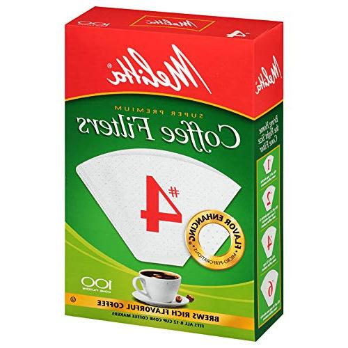 cone coffee filters white