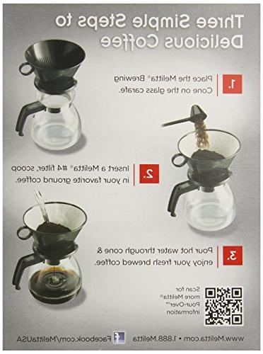 Melitta Cone Filter 6-Cup Coffeemaker