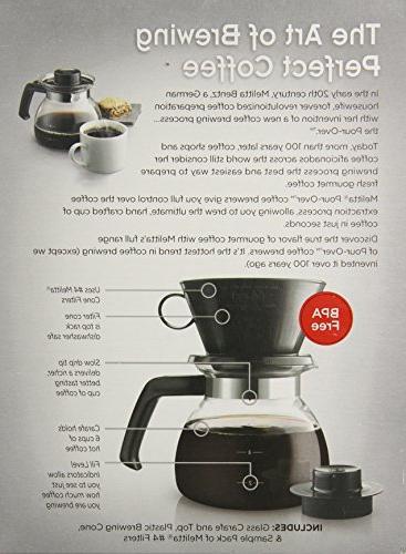 Melitta Cone Filter Coffeemaker