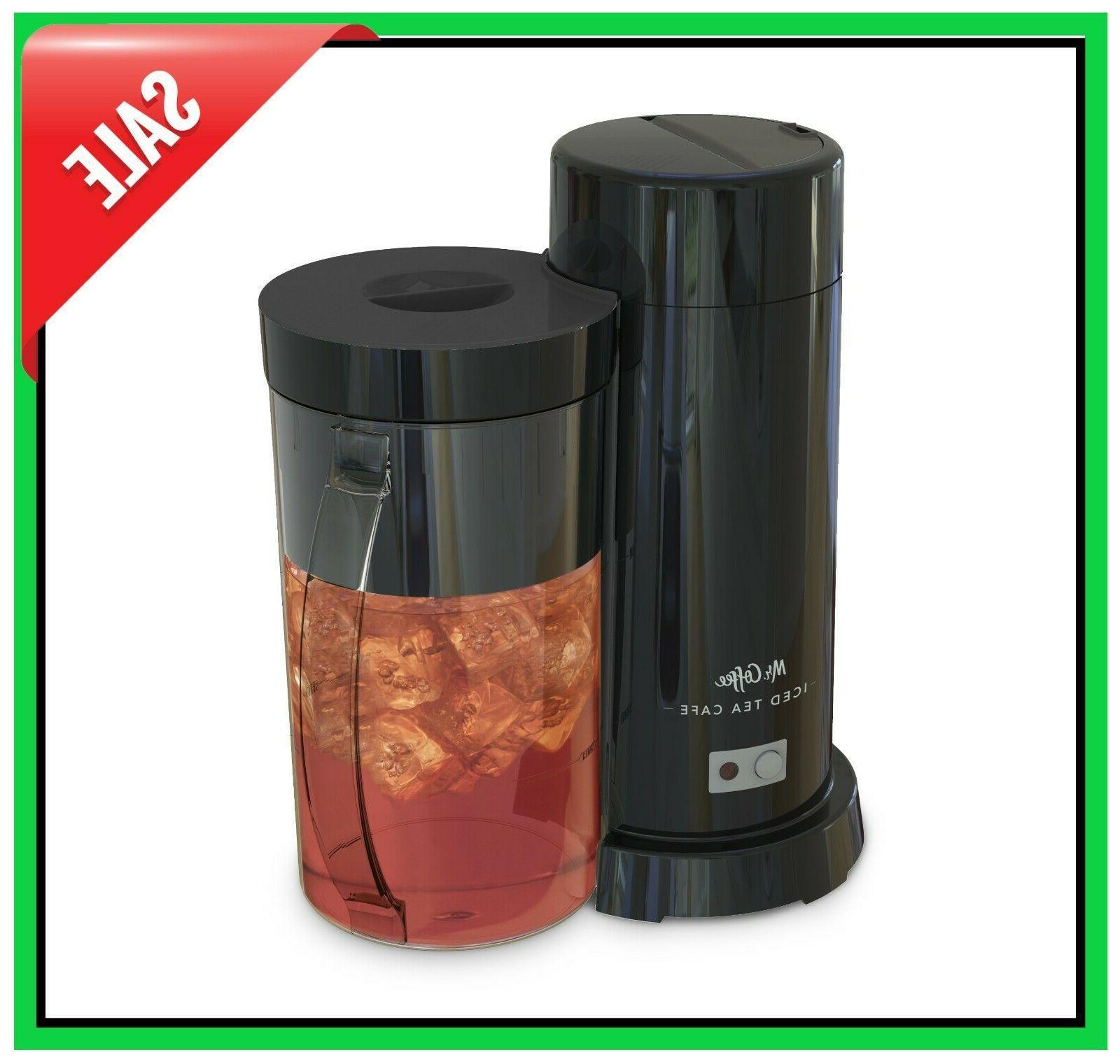 Electric Iced Coffee / Tea Maker Machine 2 Qt. - Fast Brewin