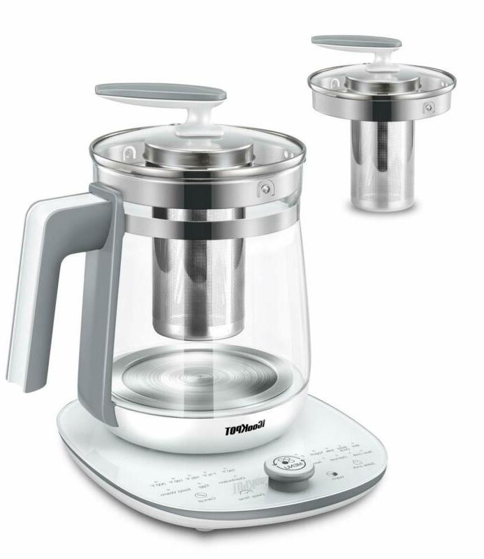 Electric Kettle With Temperature Control Panel Base Multi-Us