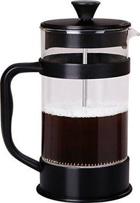 french coffee press 34 oz espresso tea