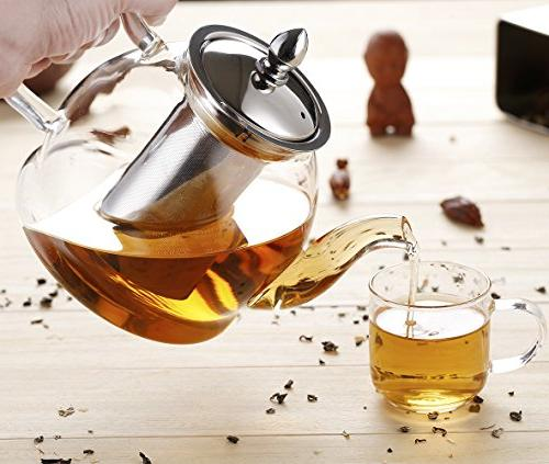 Hiware 1000ml with Safe and Leaf Tea Maker
