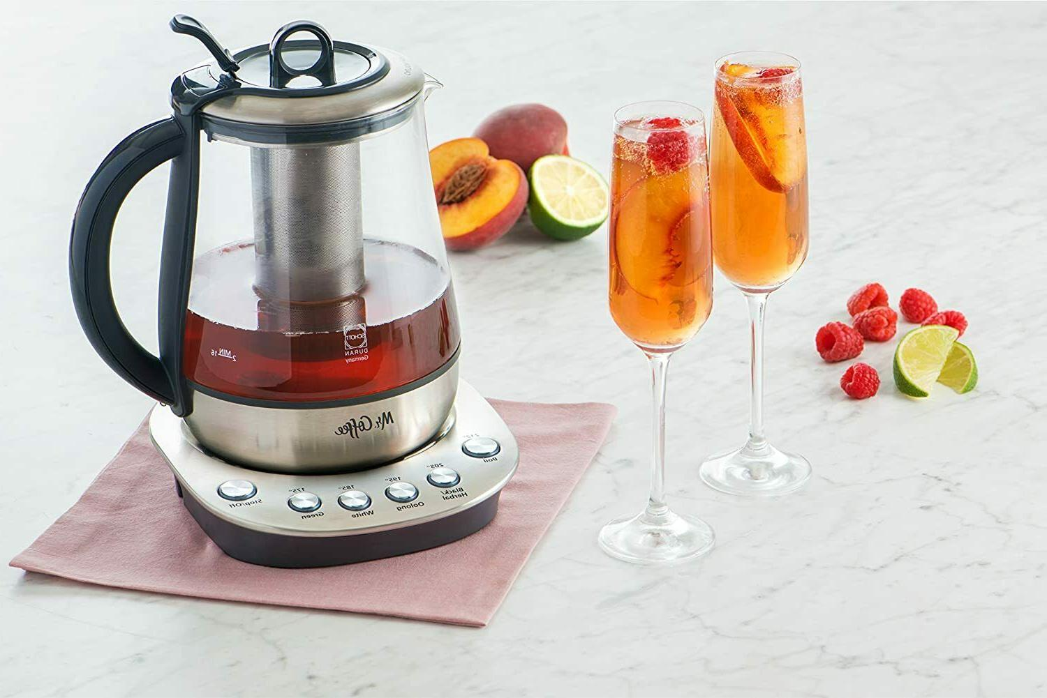 Hot Tea Maker and Kettle, Stainless