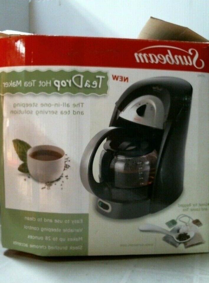 htm5 hot tea maker black stainless free