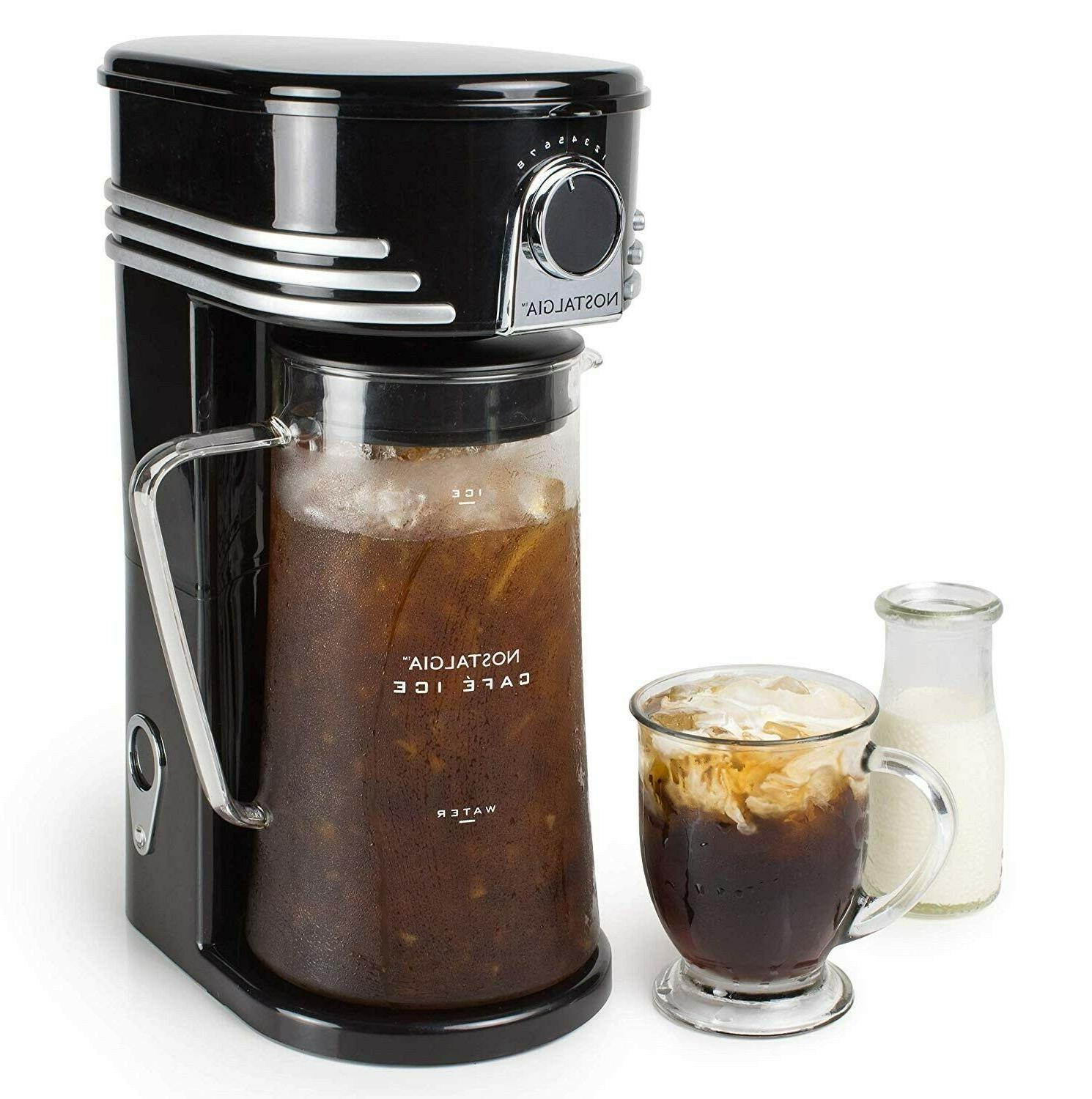iced coffee maker and tea brewing system