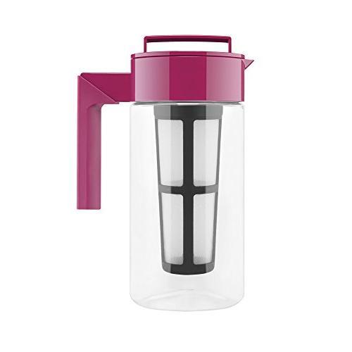iced tea maker airtight pitcher