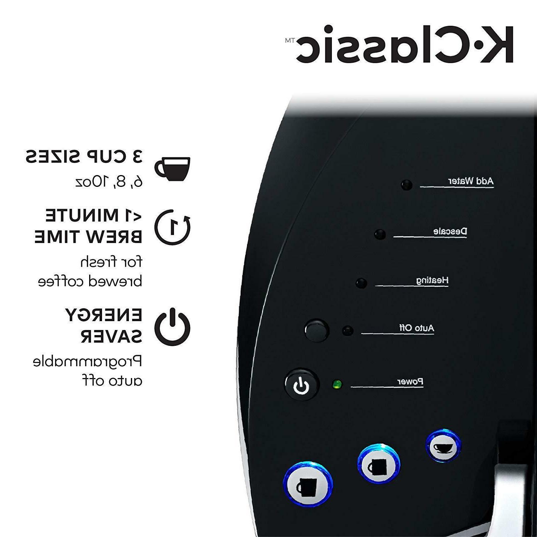 Keurig K55/K-Classic Tea Maker Pod Serve Programmable Black