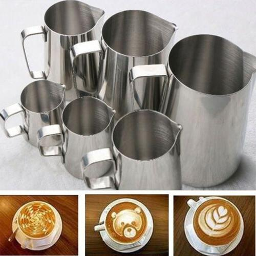 Kitchen Stainless Tea Milk Latte Jug 1000mL