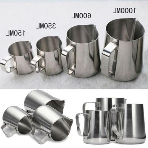 Tea Frothing Latte Jug 100 350 1000mL