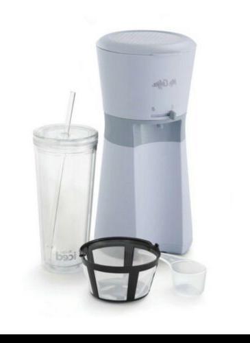 mr coffee iced coffee maker gray