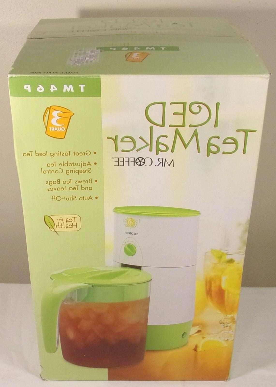 mr coffee iced tea maker 3 quart