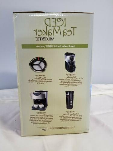 Mr. Coffee Iced Tea Maker Electric New