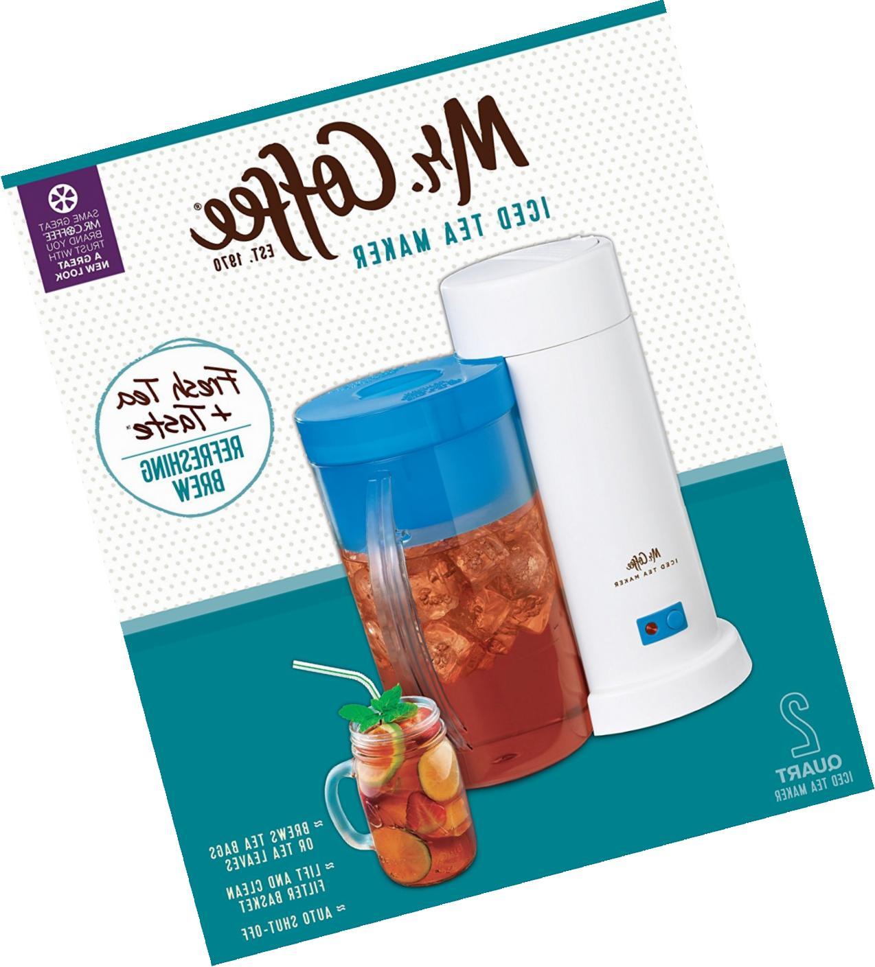 mr coffee tm1 2 quart iced tea