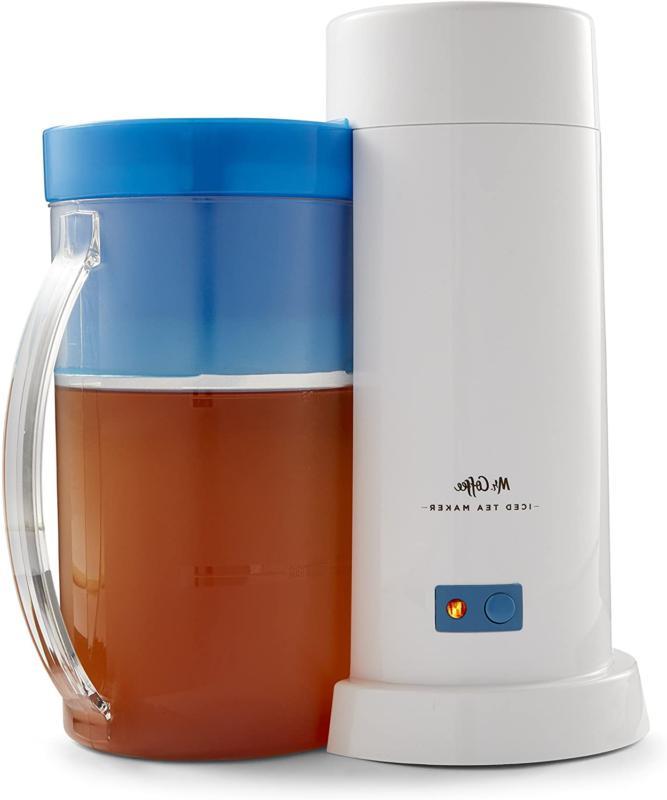 Mr. Coffee TM1RB TM75 Iced Tea Maker 1 EA Blue Auto Shut-off