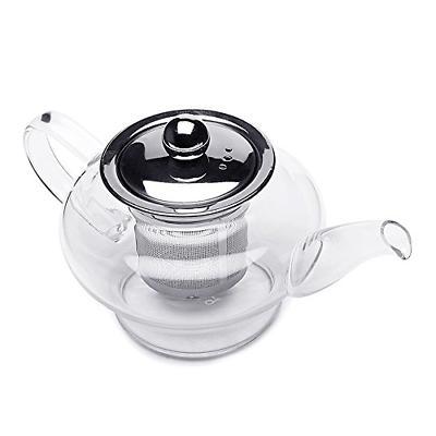 Teabox Glass Tea Pot Oz.
