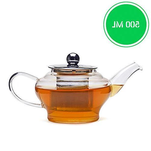 neo glass tea pot