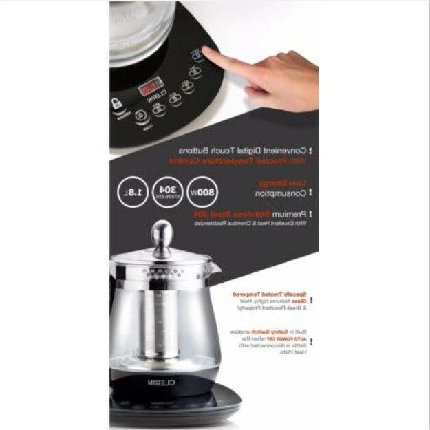 New Clerin Temperature Control Tea Maker
