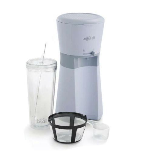 new gray mr coffee iced coffee maker