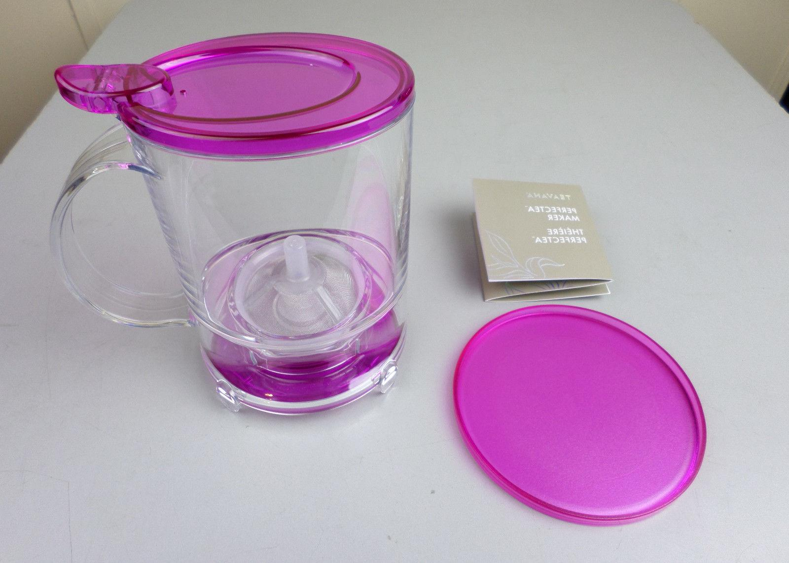 perfect tea maker color fuschia perfectea 16