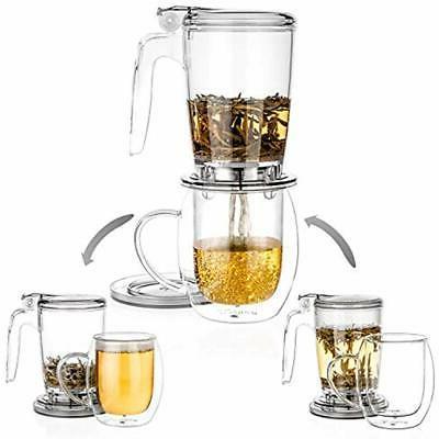 Tealyra Rapidtea Ounce Loose Tea Teapot Infuser Best Gift