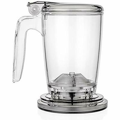 rapidtea maker 16 ounce loose tea teapot