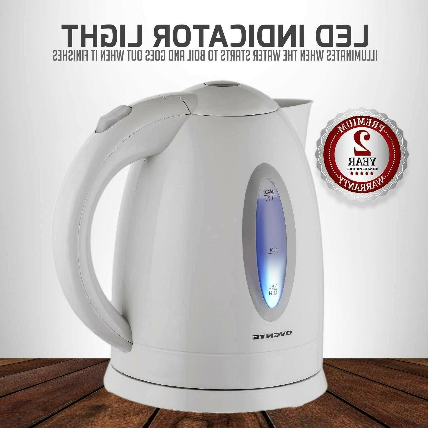 Roll zoom in Ovente Electric Kettle 1.7 Lite