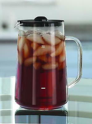 Capresso Steel Ice Tea Maker w/ 80 Oz. Glass Pitcher
