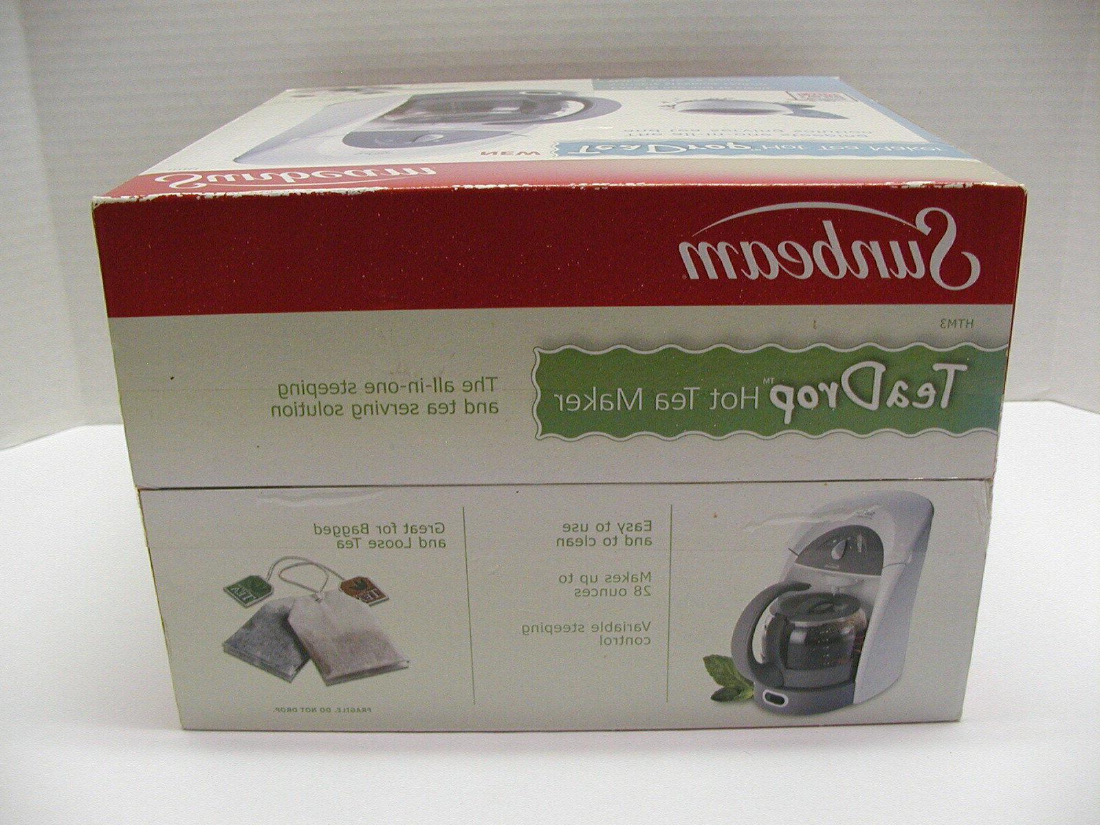 SUNBEAM TEA TEA HTM3 NEW...OPENED BOX