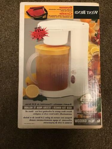vintage 3 quart iced tea maker pot