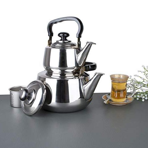 Aramco Kettle, 1.2/3L, Stainless Steel