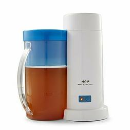 Mr Coffee 2 Quart Iced Tea Iced Coffee Maker Blue Electric I