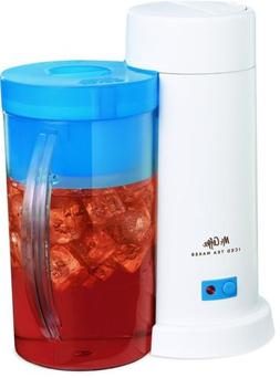 Mr. Coffee 2-Quart Iced Tea Maker for Loose or Bagged Tea, B