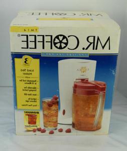 Mr Coffee 3 Quart Iced Tea Maker TM14 With Bonus Pitcher
