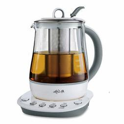 Mr. Coffee BVMC-HTK100 1.2 L Hot Tea Maker and Kettle White