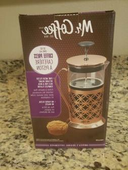 Mr. Coffee Copper 32 Oz. French Press - 6 Cup Coffee / Tea P