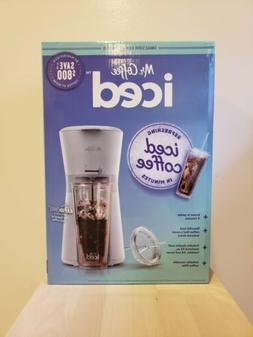 Mr. Coffee Iced Coffee Maker with Reusable Tumbler and Coffe