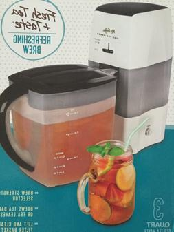 Mr. Coffee Iced Tea Maker 3 Quart with Brew Strength Selecto