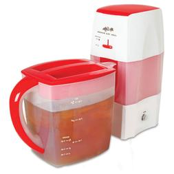 Mr. Coffee Fresh Tea Iced Tea Maker, 3-Quart Capacity, Dishw