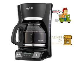 Mr. Coffee Simple Brew 12-Cup Programmable Coffee Maker New