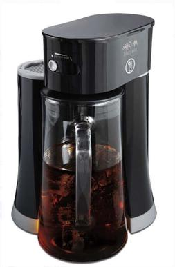 Mr. Coffee Tea Cafe Iced Tea Maker, Black new