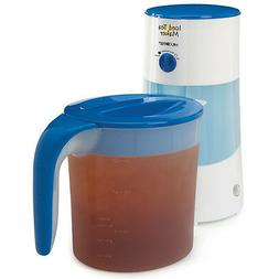 Mr. Coffee TM70 Iced Tea Maker with Pitcher, Blue, 3-Qt