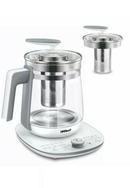 Multi-Use Electric Glass Kettle Tea Maker Yogurt and Program