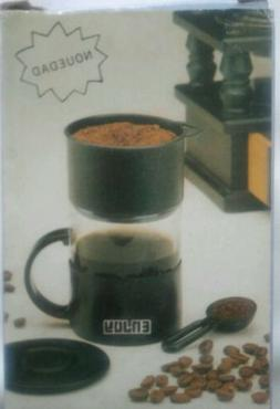 New, Enjoy Brand, Coffee/Tea Maker/Brewer Travel Single Serv