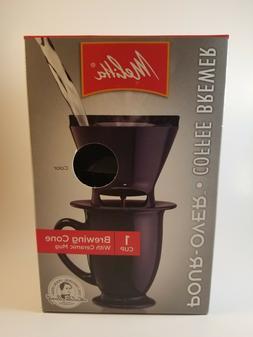 NEW Melitta Coffee and tea Pour over Maker With Ceramic Mug