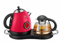 NEW DESIGN Tea/Coffee Maker, Cordless Electric Stainless Ket